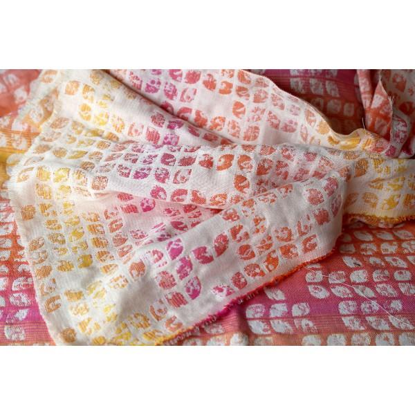 Fular Yaro Petals Ultra Cotton Candy Rainbow