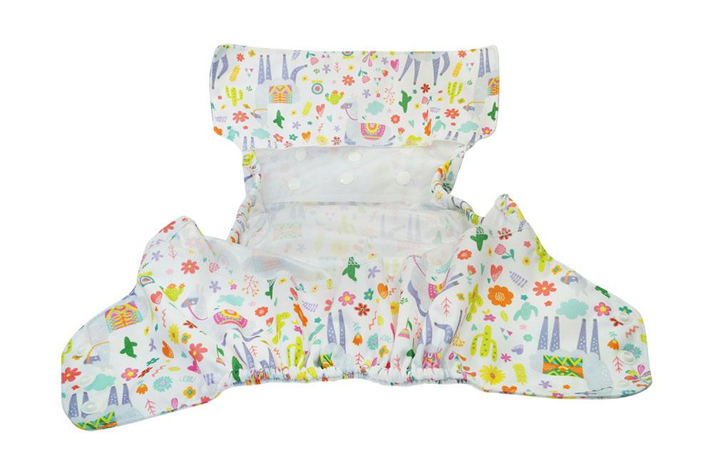Cobertor Blümchen XL Llama White