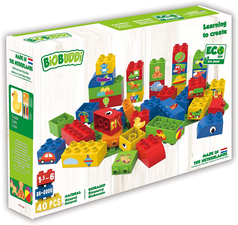 Bloques de construcción Biobuddi 40 piezas