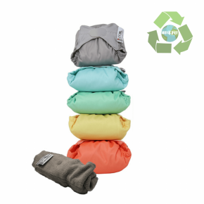 Pack de 5 pañales Pop-in V2 colores pastel 2020