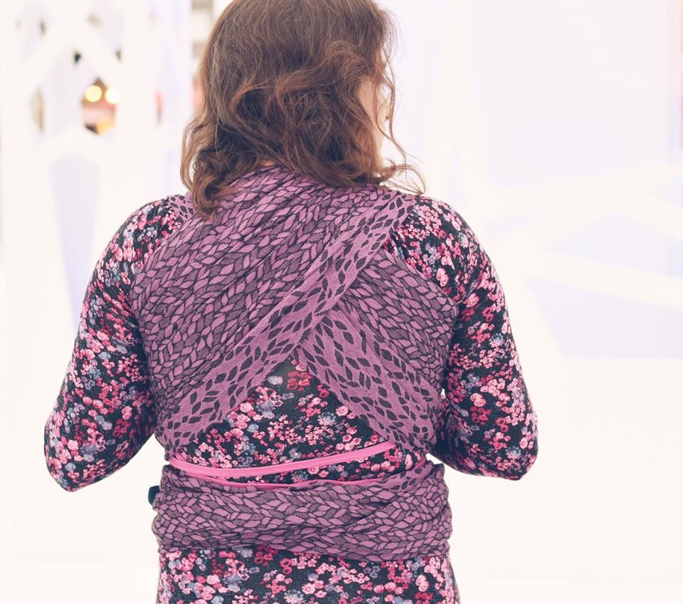 Fular Nona Woven Imagine Syzygy con lana