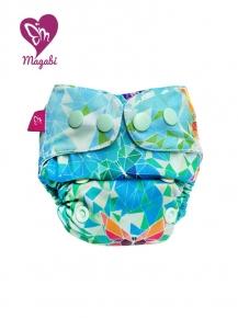 Pañal rellenable recién nacido Magabi Origami Butterflies