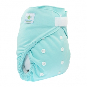 Cobertor unitalla Slimfit Blümchen Turquoise