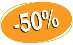 Pañales 50% descuento