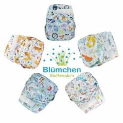Cobertores Blümchen unitalla